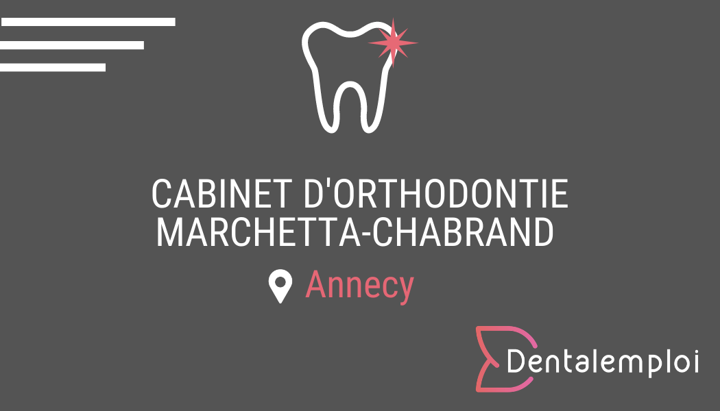 Logo Cabinet d'orthodontie Docteur Marchetta-Chabrand
