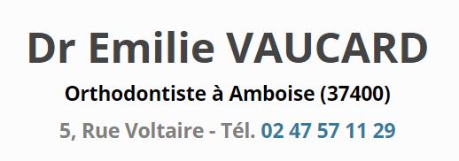 Logo Cabinet d'orthodontie Émilie Vaucard