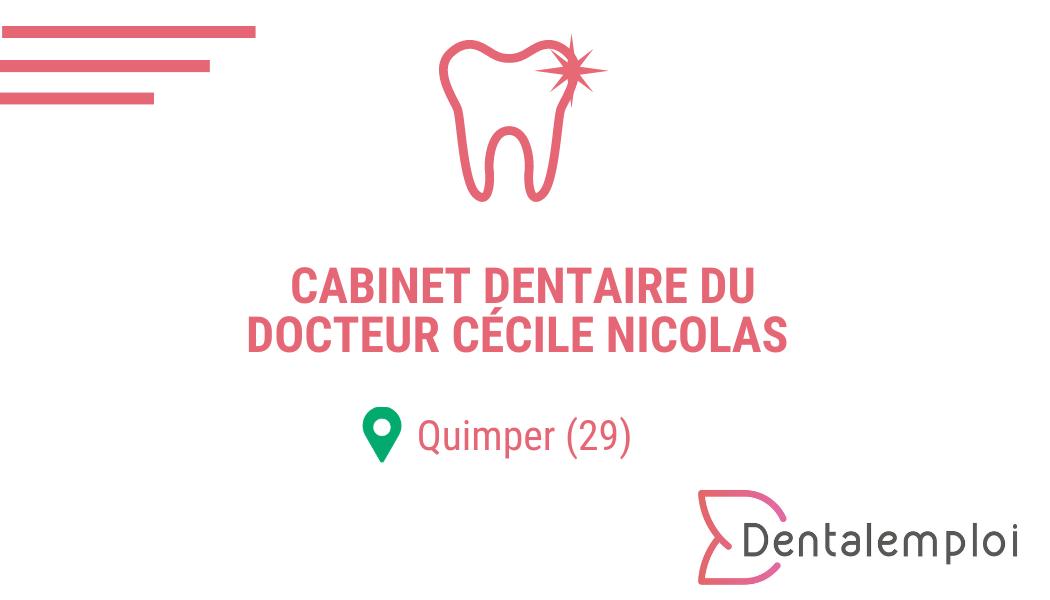 Logo Cabinet Dentaire Cécile Nicolas