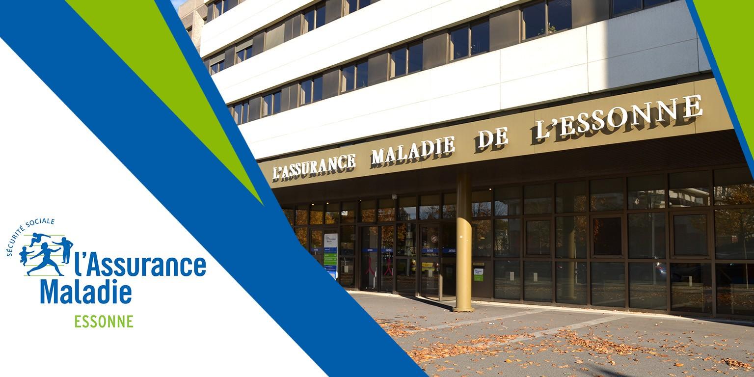 Logo Caisse Primaire d'Assurance Maladie de L'Essonne