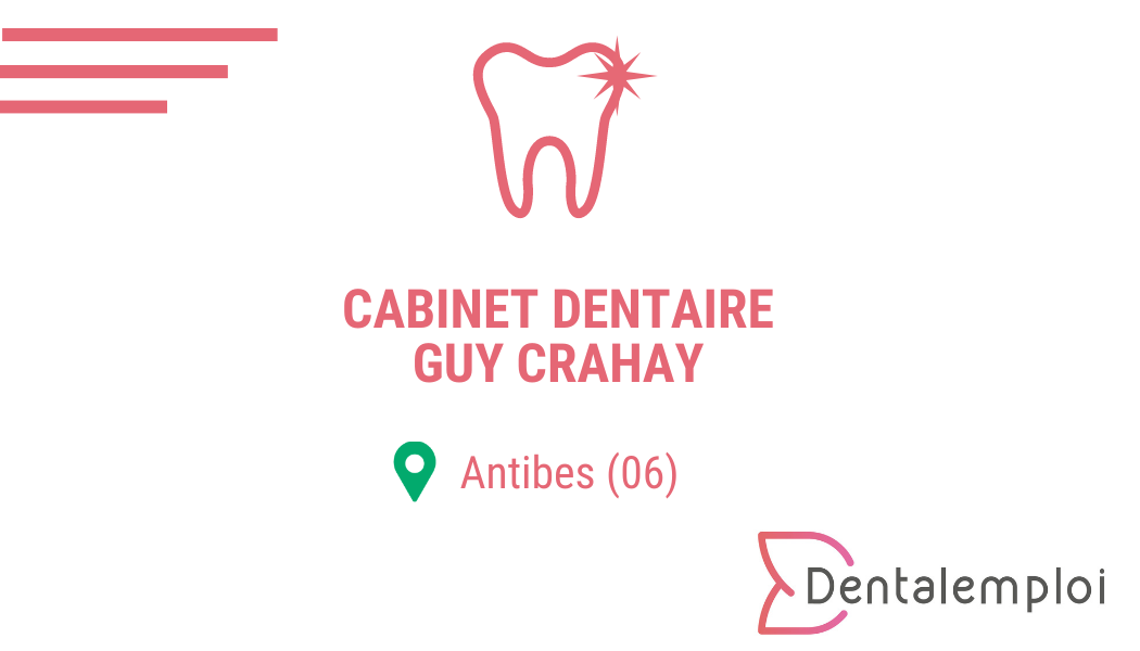 Logo Cabinet dentaire Guy Crahay