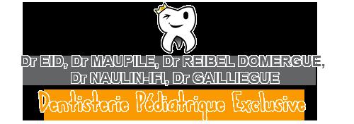 Logo Cabinet de dentisterie pédiatrique Naulin-Ifi, Eid, Reibel Domergue, Maupile