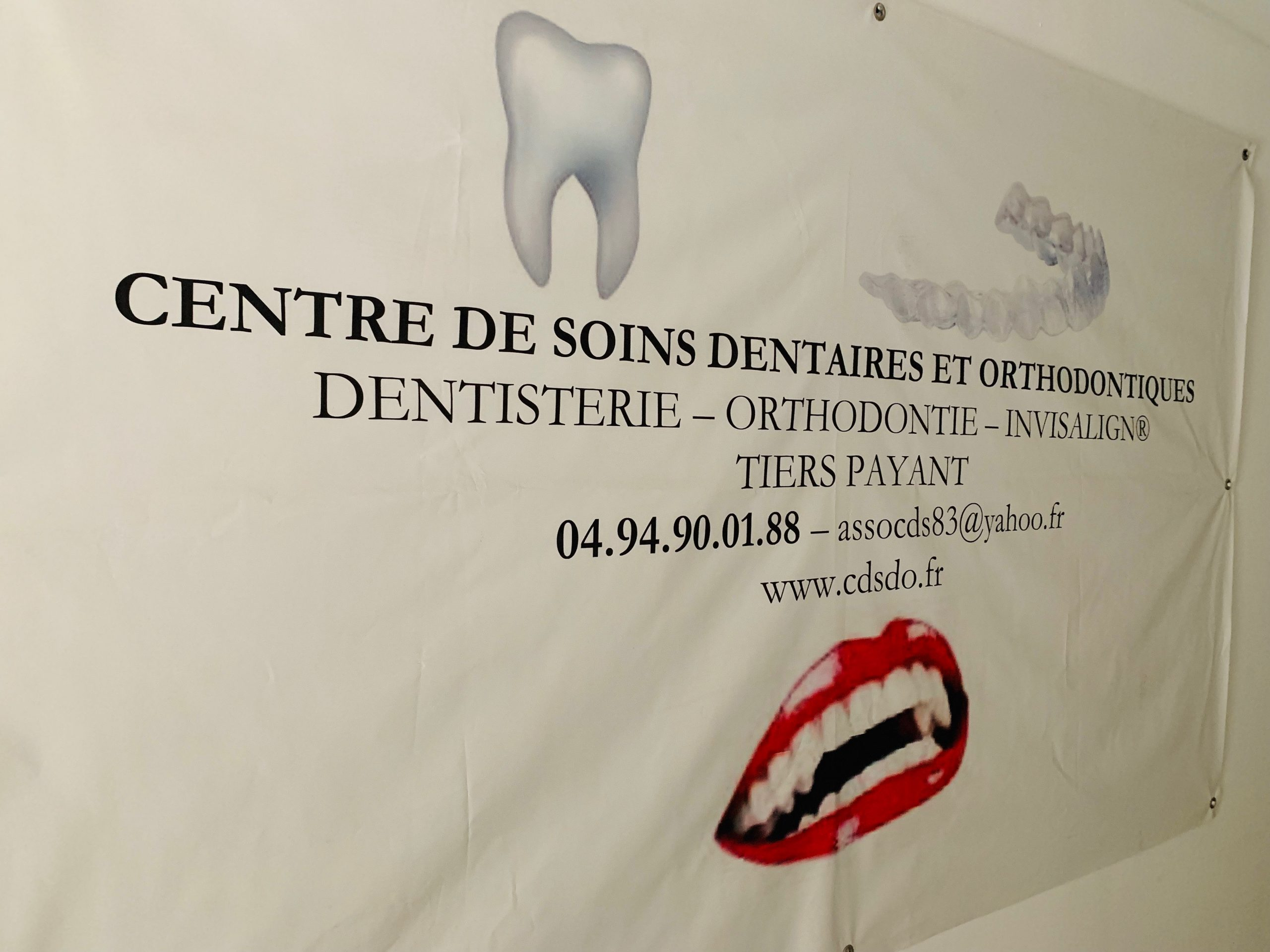 Logo Centre de Soins Dentaires et Orthodontiques - CDSDO Toulon